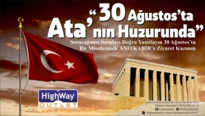 HighWay Outlet'te bir ilk
