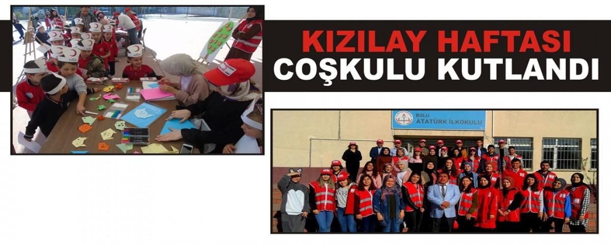Bolu Ekspres Kizilay Haftasi Coskulu Kutlandi